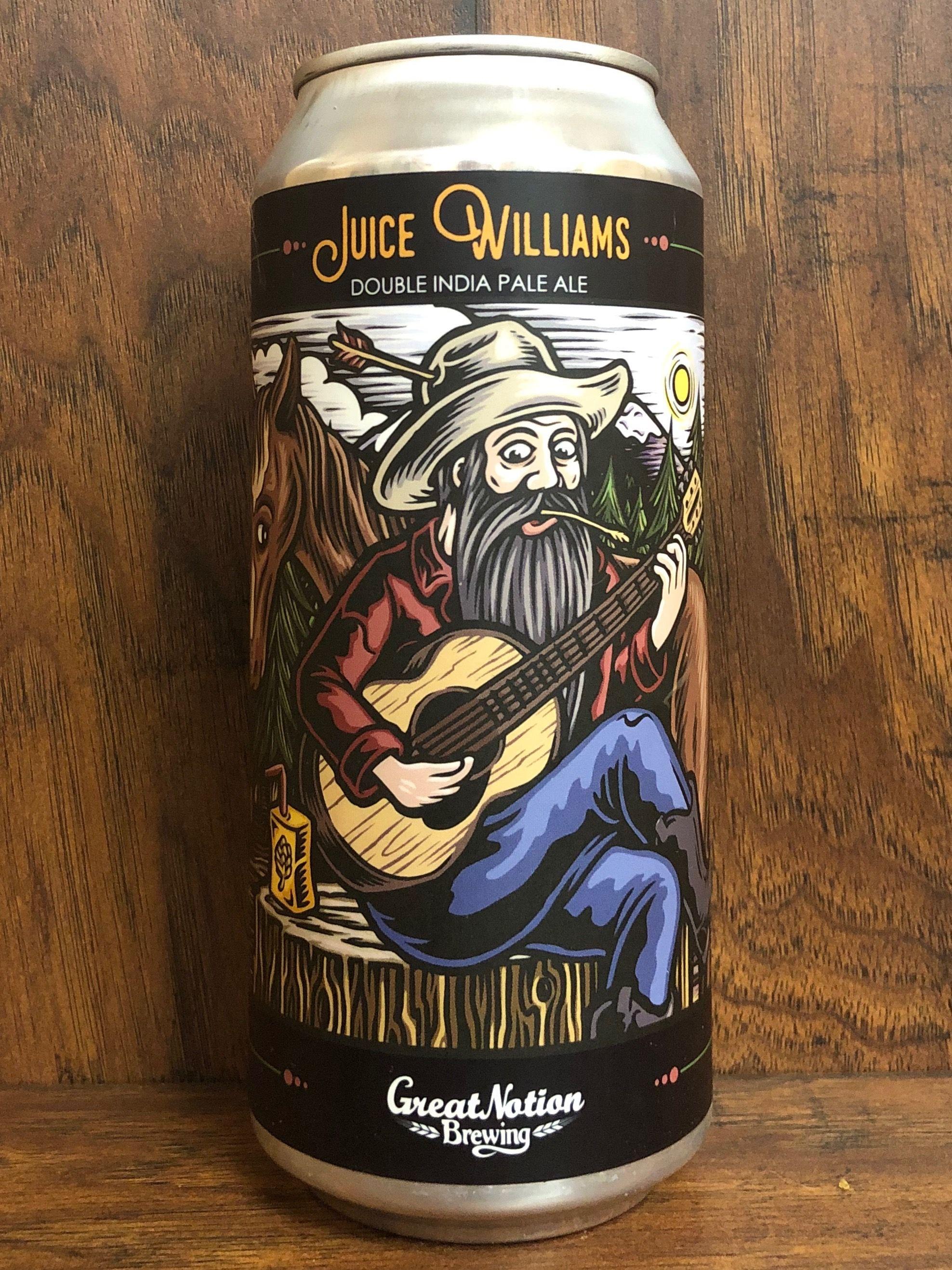 Juice williams great notion brewing portland oregon
