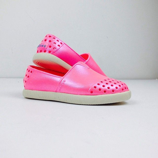 Irredescent Verona from #native. #summerstyle #bestkidsshoes