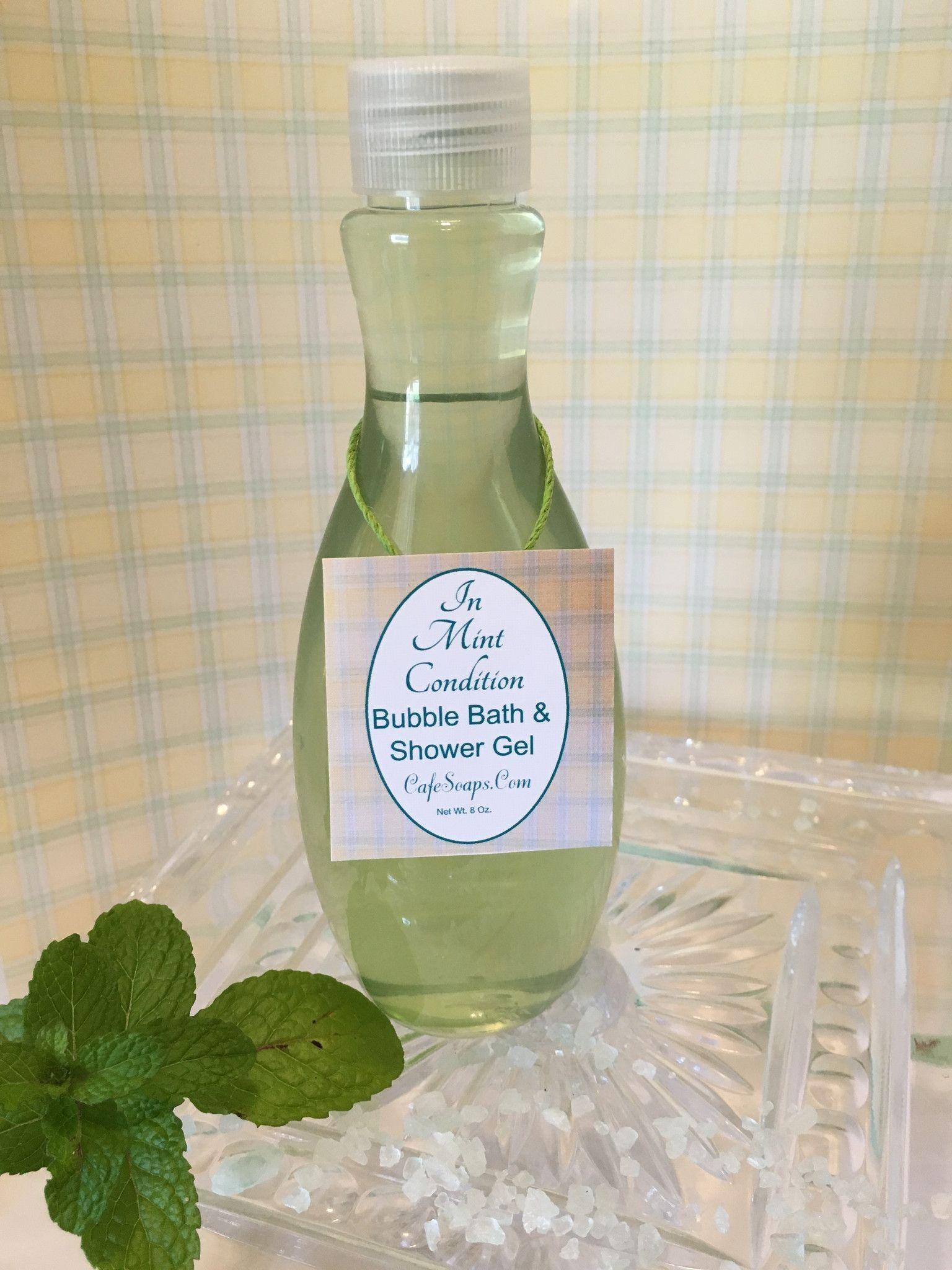 In Mint Condition~Bath & Spa Collection~Bubble Bath & Shower Gel