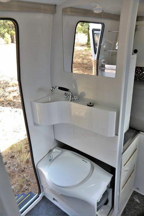 Image result for bathroom in vw camper van t2 Petit