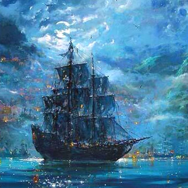 Ships And Boat Paintings