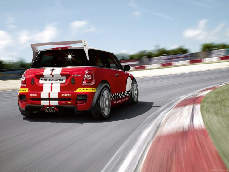 Mini John Cooper Works Challenge 2008 Race Car Racing