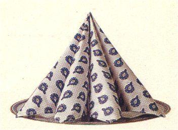 Pliages Serviettes La Pyramide Des Idées Pour Que La Fête Soit