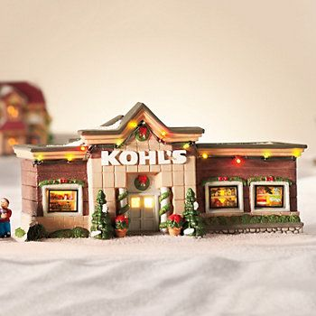 How To Store Christmas Village Houses.St Nicholas Square Village Kohl S Department Store