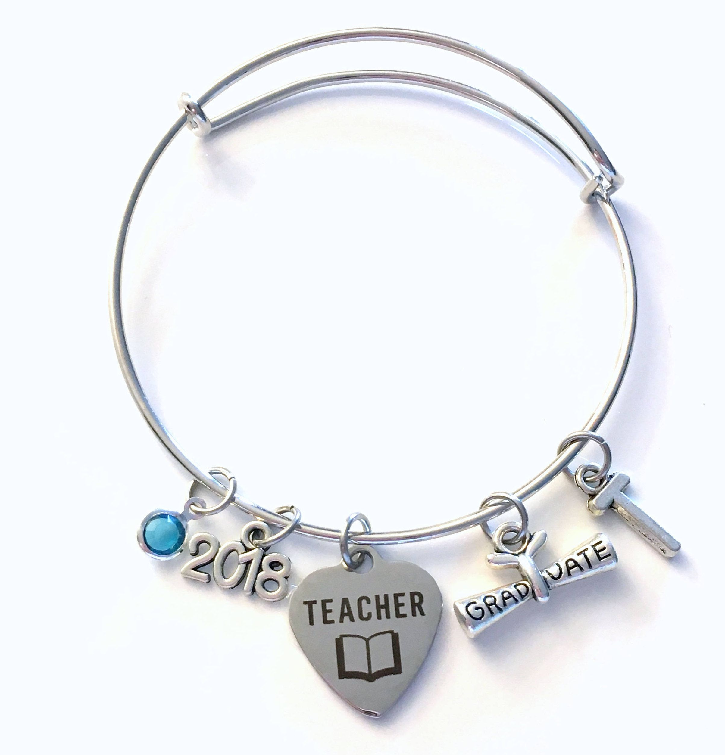 senior bracelet class graduate pin graduation of