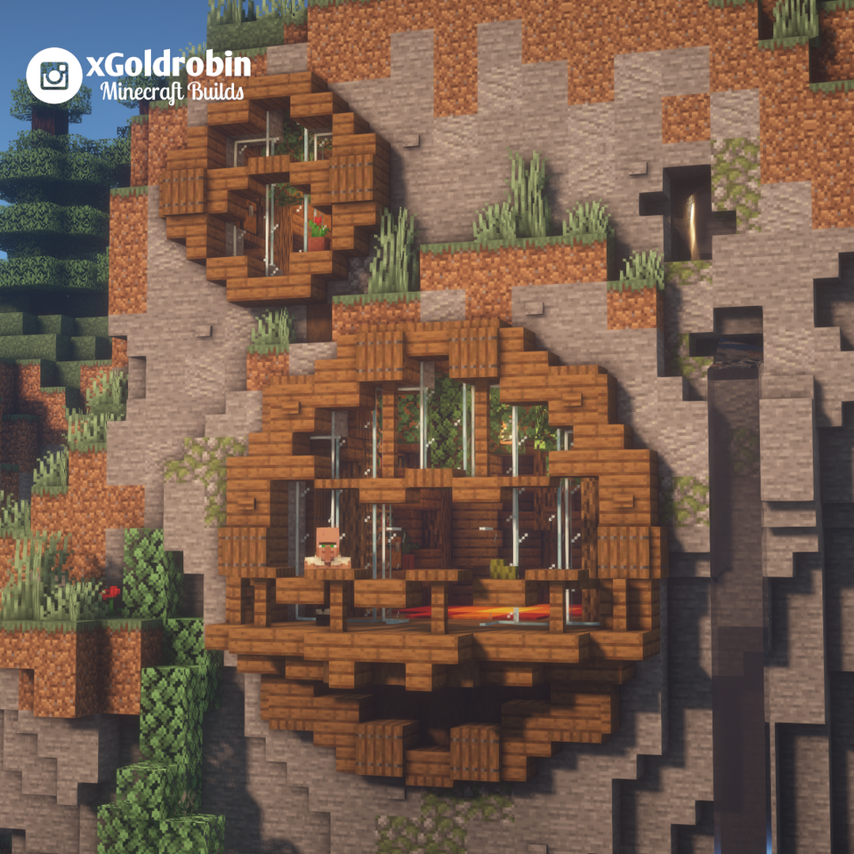 Mountain  Home Sweet Home    Minecraft In 2020