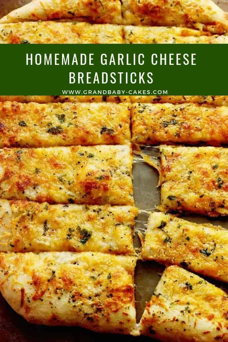 Homemade Garlic Cheese Breadsticks If you go to your local pizzeria and order the garlic cheese bre