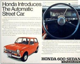 Honda Cars Debut In America Santa Rosa CA