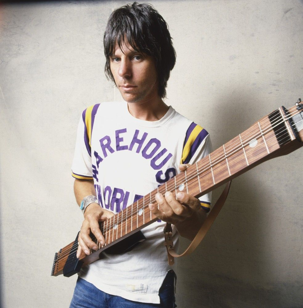 Jeff Beck with a Chapman Stick