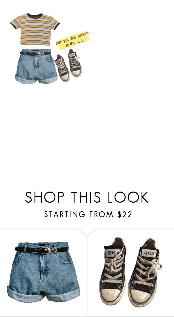 """art kid"" by joenevieva ❤ liked on Polyvore featuring Retrò and Converse"