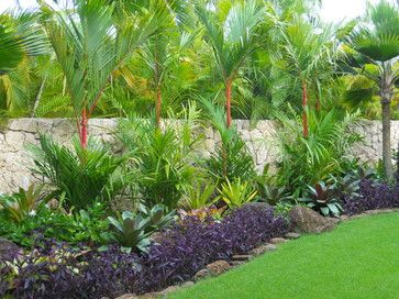 South Florida Tropical Landscaping Ideas Tropical Landscape Hawaii By Tropical Backyard Landscaping Tropical Landscape Design Tropical Landscaping
