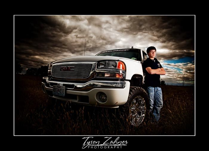 A Boy And His Truck With Images Truck Senior Pictures Boy