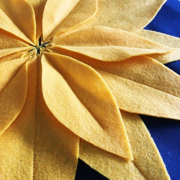 How to Make a Sunflower Pillow - Simple Simon and Company