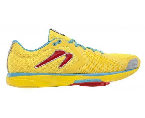 Save $ 10 order now NEWTON Distance III Ladies Running Shoe, Yellow/Red,