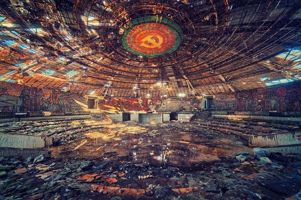 Abandoned - Abandoned Communist Party Headquarters