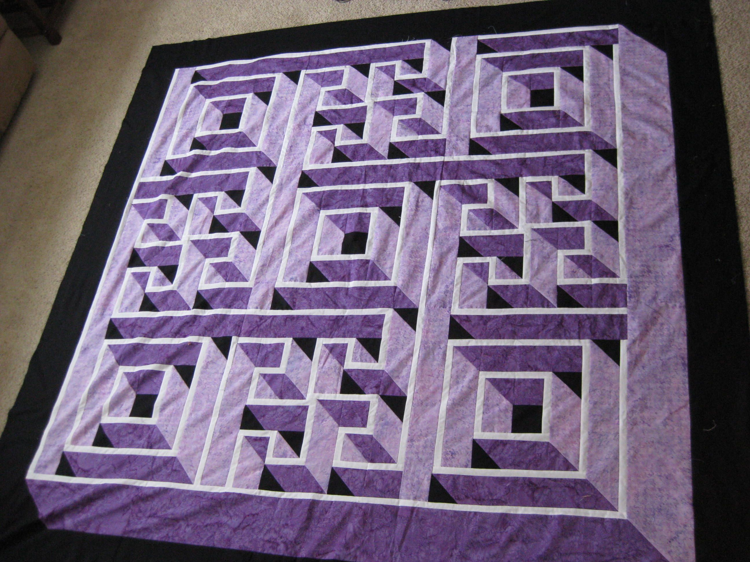 Name: labyrinth 001.jpg Views: 1773 Size: 729.0 KB | Quilts ... : quilt purple - Adamdwight.com