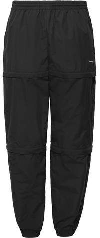 50474c3364c5 Balenciaga Tapered Zip-Panelled Shell Trousers