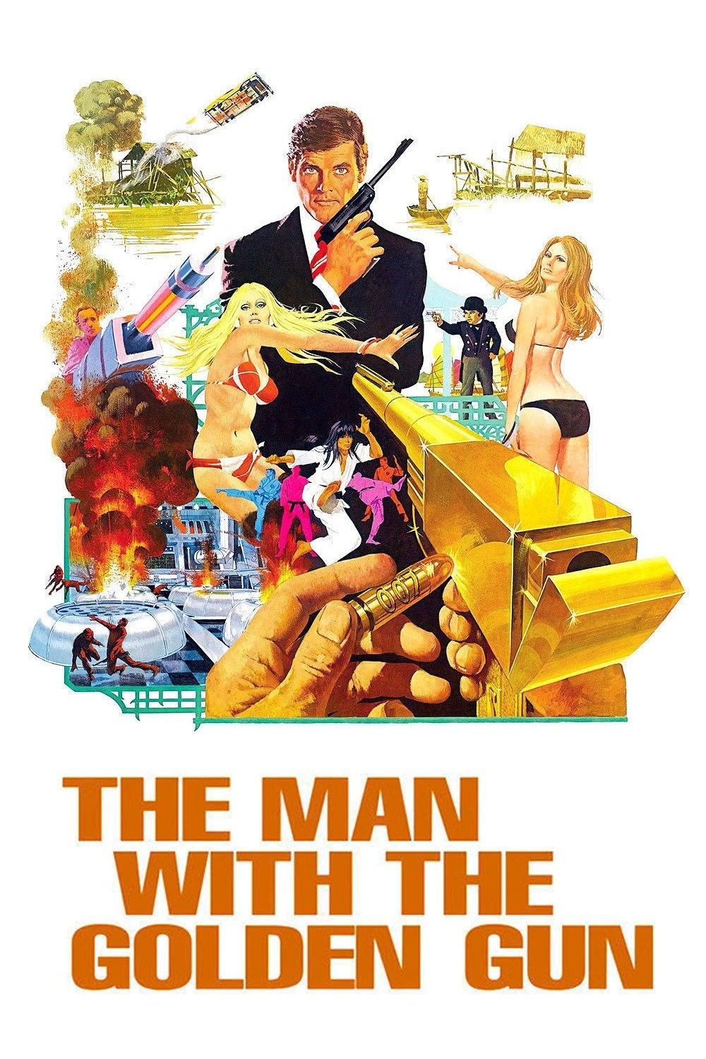 The Man With The Golden Gun 1974 Watch Movies Free Online