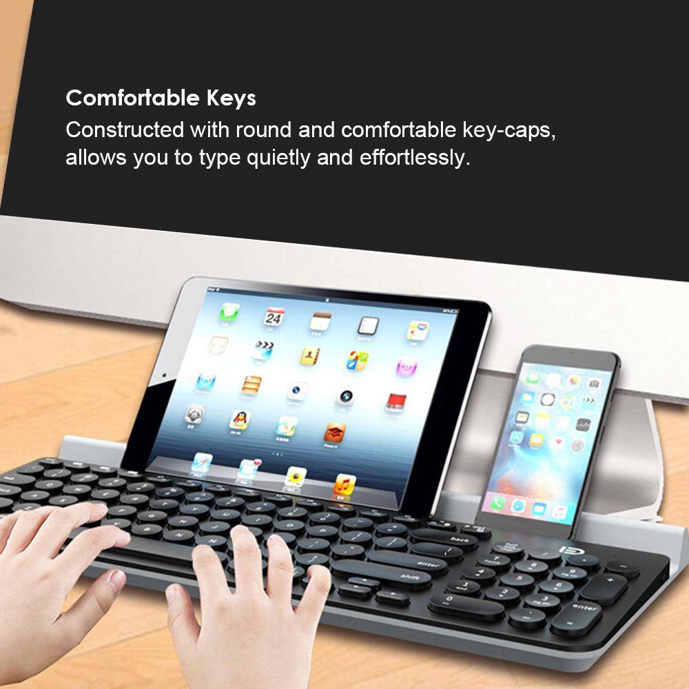 Shooppingo Com Keyboard With Mobile Phone Holder For Tablet Smart Phone Tablet Mobile Phone Holder Smartphone