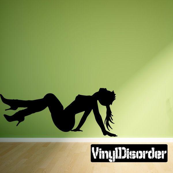 Stripper Wall Decal - Vinyl Decal - Car Decal - 066