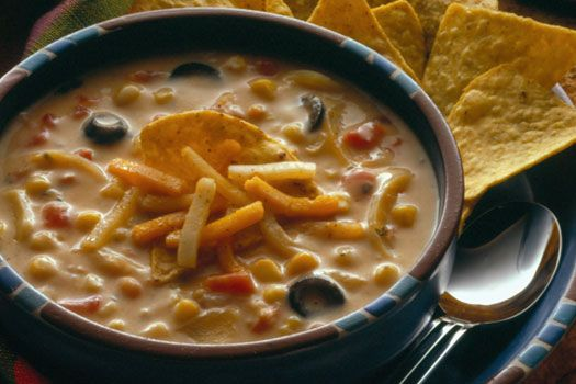 Recipe for nacho cheese soup