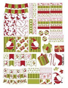 Free Christmas Planner Sticker Printable