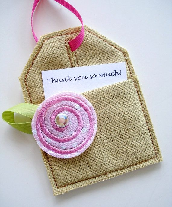 Embroidery Design For Machine Embroidery In-The-Hoop Tag
