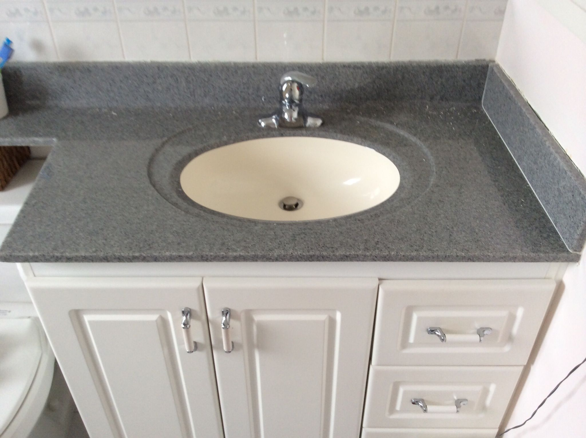 How To Remove A Vanity Counter Recipe In 2019 Home Bathroom