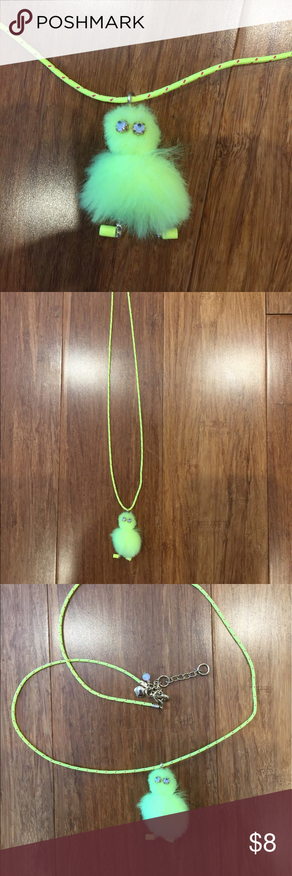 J crew girls max the monster pendant necklace monsters