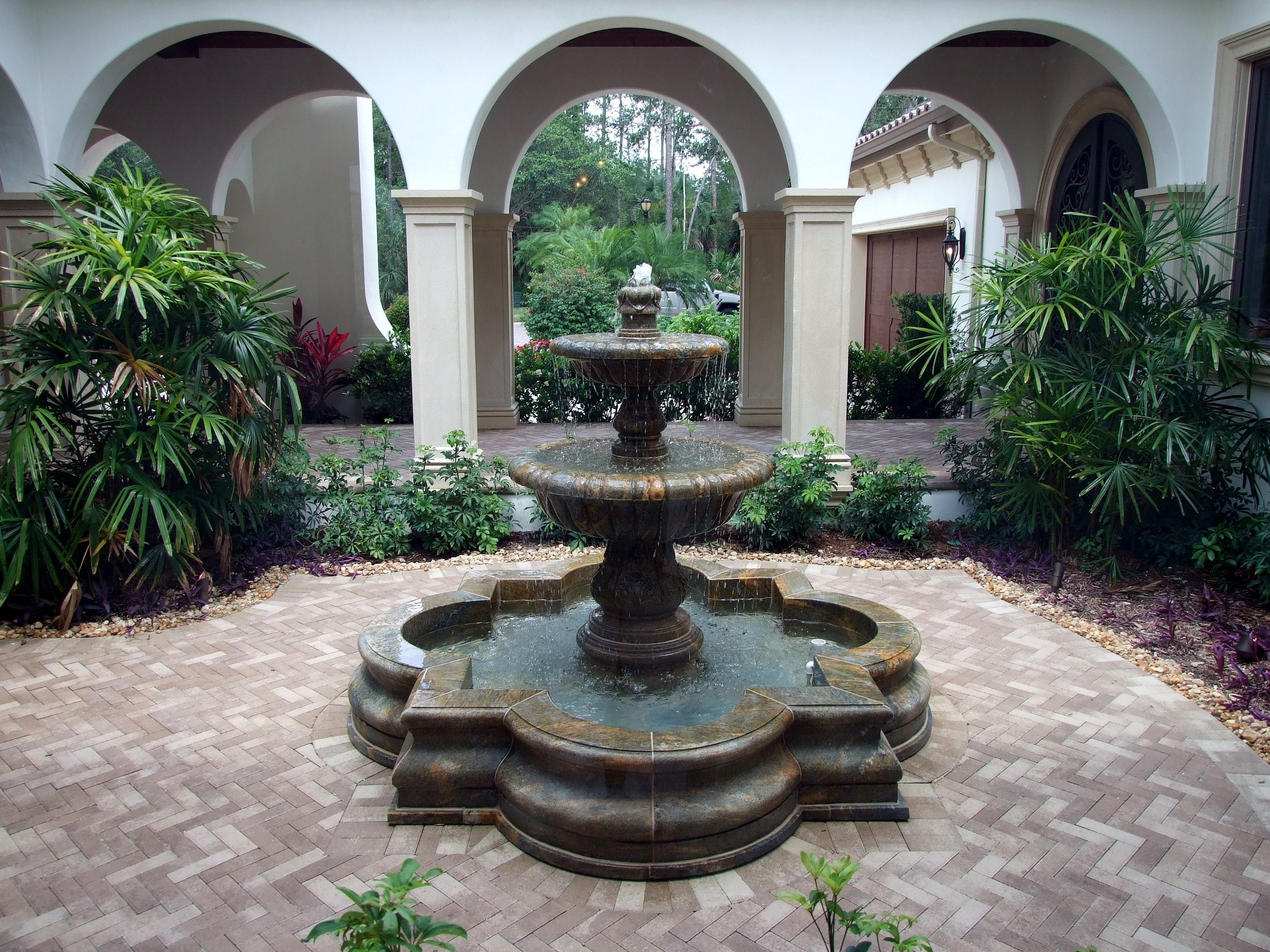Fountain For Home Decoration: Key Luxury Builders, Naples FL
