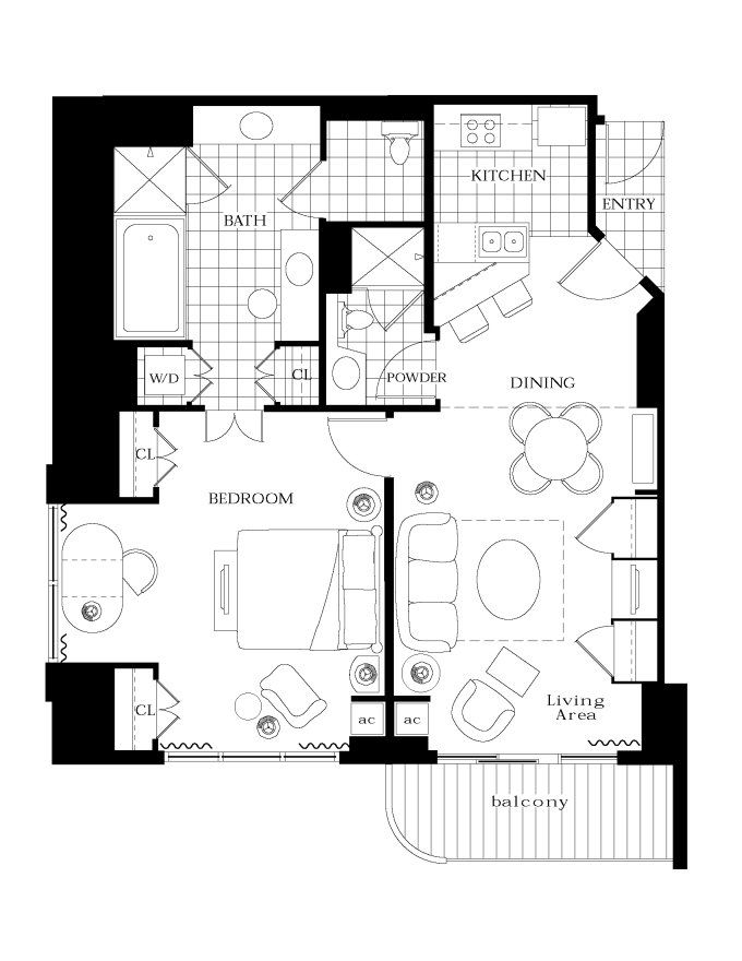 MGM Residences floorplan   Investment Properties   Pinterest ...