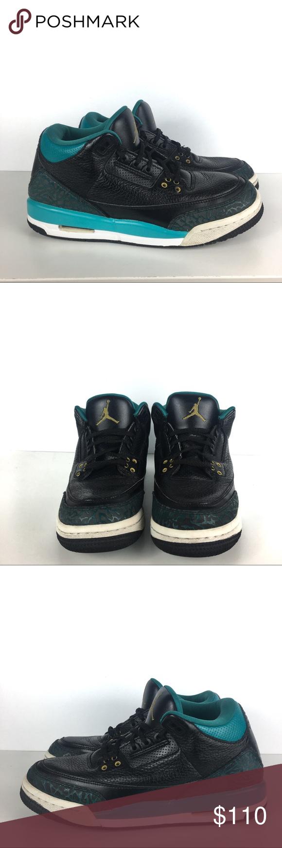 timeless design ec4ab 69ea8 Jordan Shoes | Air Jordan Retro 3 Jacksonville Jaguars ...