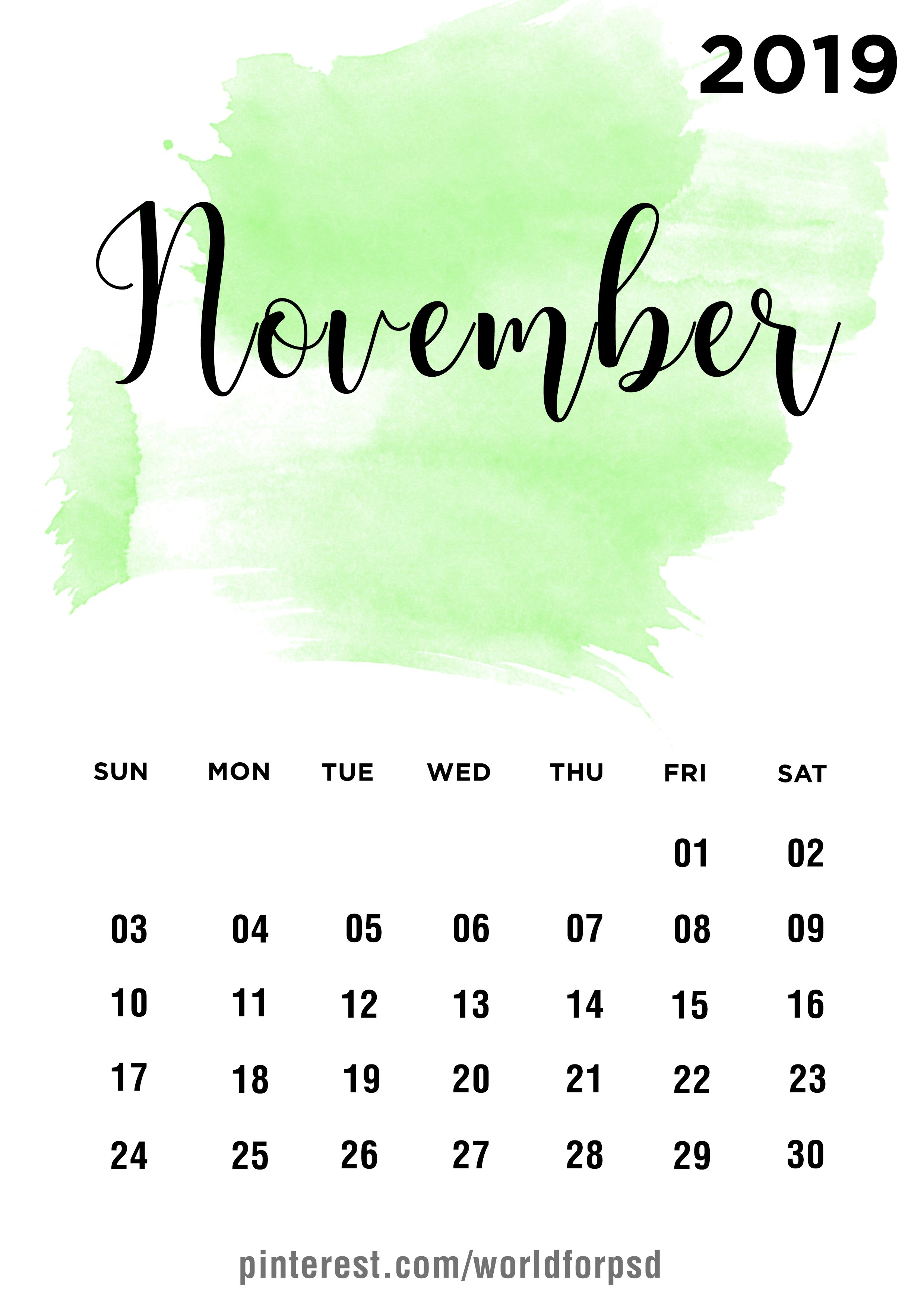 November 2019 February 2019 Calendar November 2019 Calendar Design #calendar #calendarideas #newyear