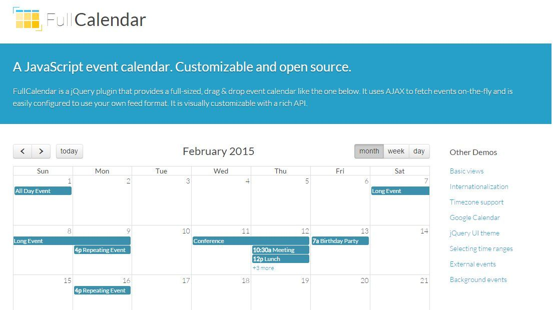 Anadir Calendario.Fullcalendar Para Anadir Un Calendario Personalizado A Un