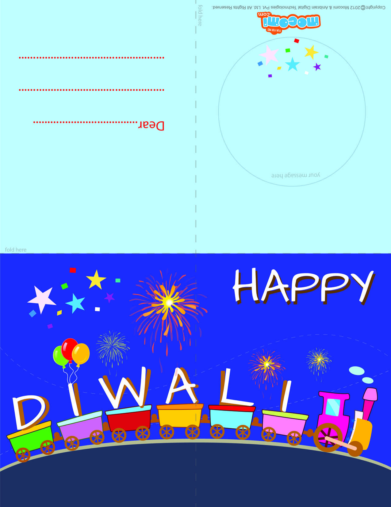 Toy train download this free diwaligreetingcard to send your near toy train diwali greeting card for kids m4hsunfo