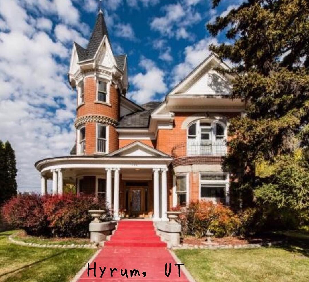 1905 Hyrum Utah Historic Homes For Sale Historic Homes Mansions