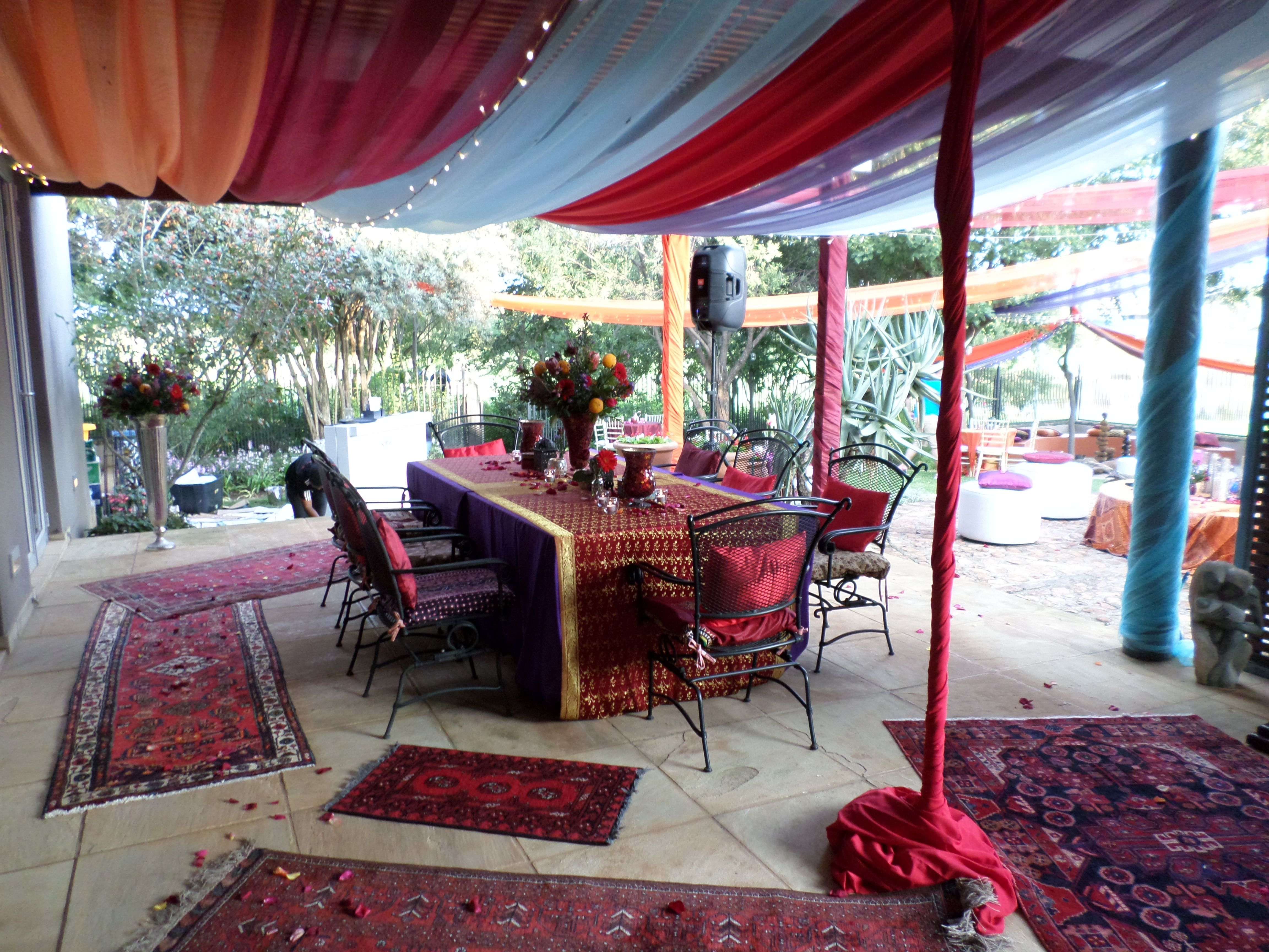 50th Birthday Party Done By Sa Wedding Decor Moroccan Inspiration