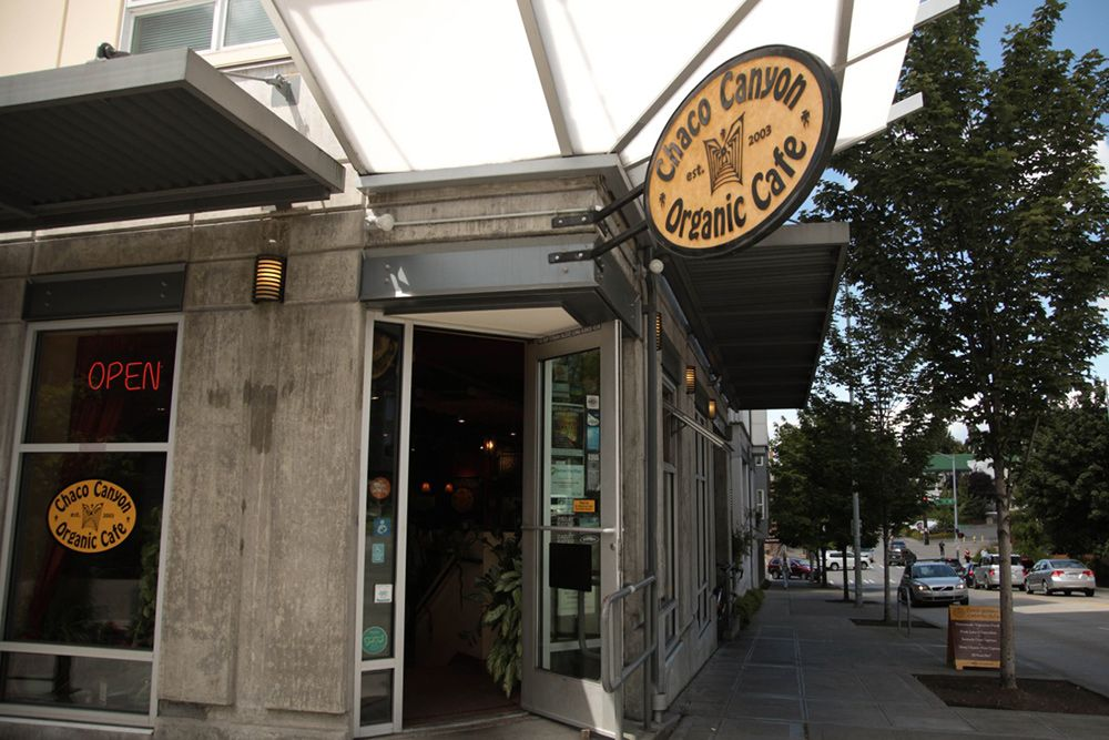 Chaco Canyon Organic Cafe Is A Vegan Restaurant Is Seattle Wa We Offer Delicious Vegan And Gluten Free Offerings To Organic Restaurant Vegan Restaurants Cafe