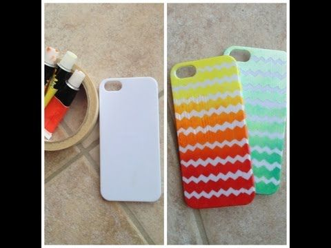 Diy Ombre Phone Case Made With Nail Polish Youtube Diy Phone Diy Phone Case Diy Ombre