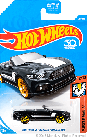 ConvertibleHot Ford Gt 2015 Muscle Mania 50th Anniversary Mustang vgyYf76Ibm