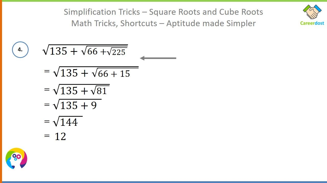 Simplification Tricks Square Roots And Cube Roots Basics Examples Shortcuts Math Tricks Math Tricks Maths Ncert Solutions Square Roots [ 720 x 1280 Pixel ]