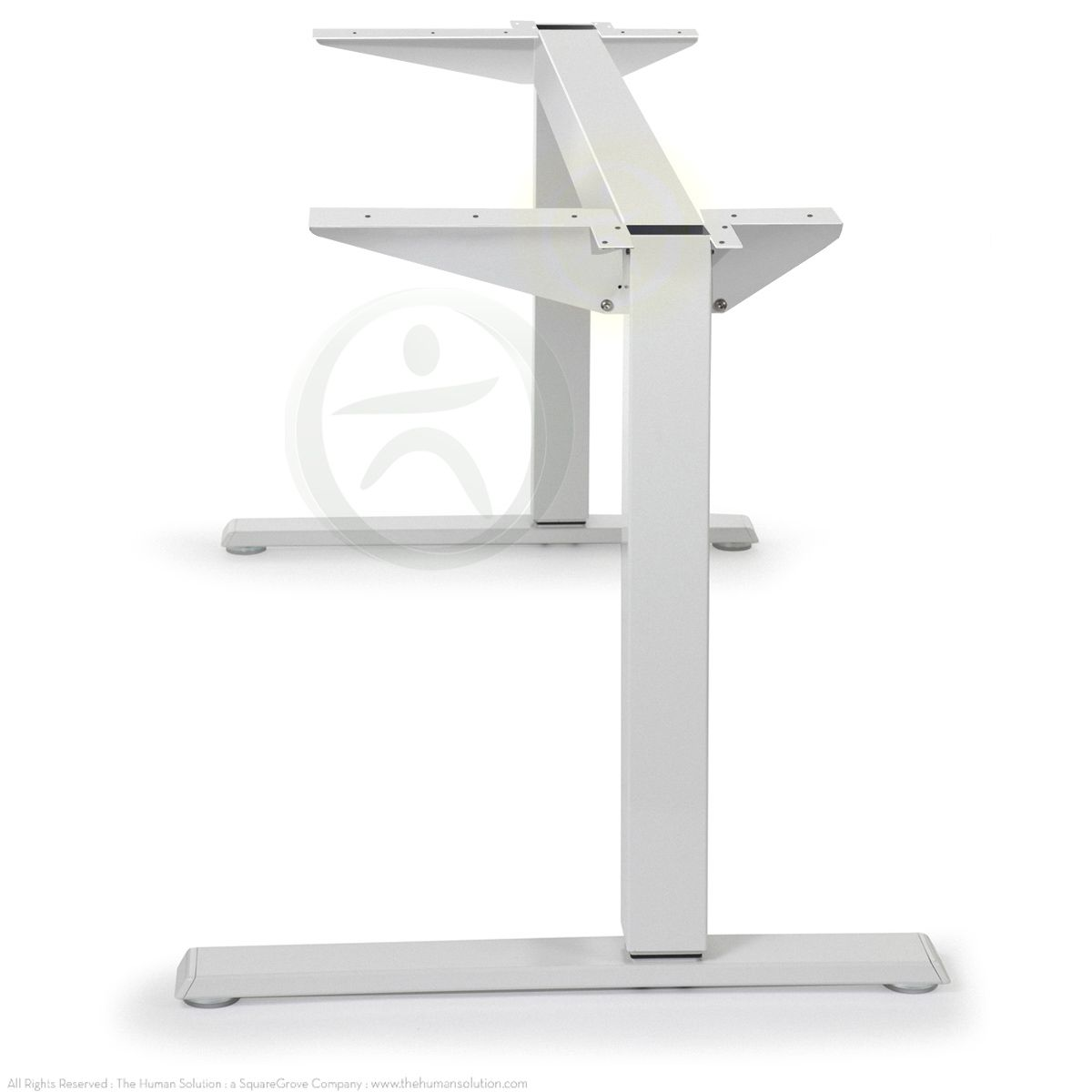 They Also Sell Just The Float Table Base For Maximum Customization The Humanscale Float Table Ba Sit Stand Table Table Base Adjustable Height Desk