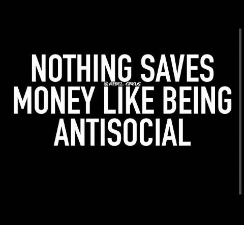 I'm quite the saver