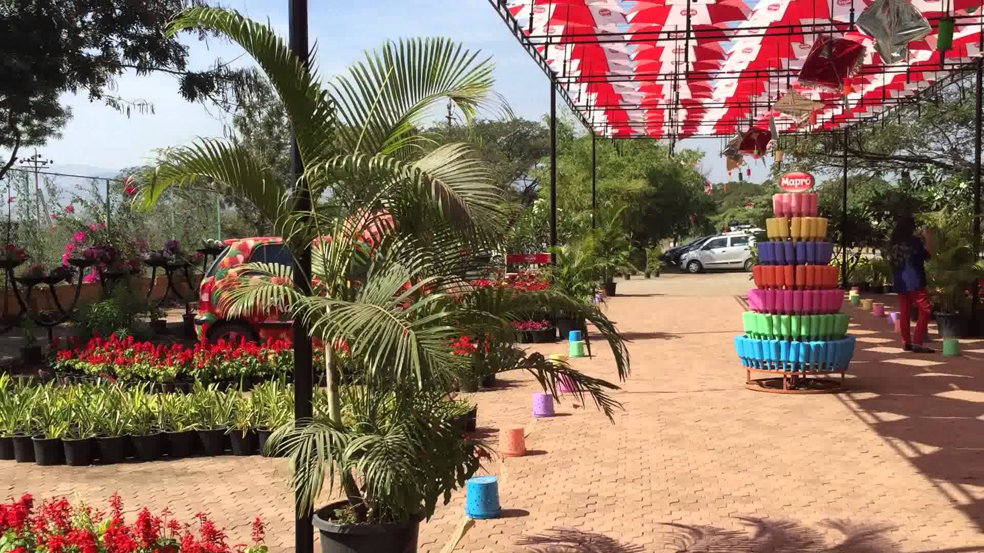 Mapro Gardens in Mahabaleshwar a garden park in the hill