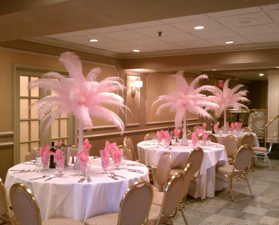 Sweet 16 pink decorations sweet 16 decorations ideas on for Decoration de table