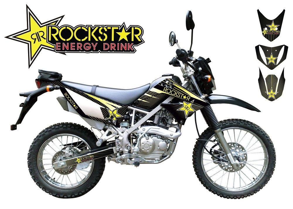 Decal Sticker Klx 150 S Stiker Modifikasi Kawasaki Klx 150s