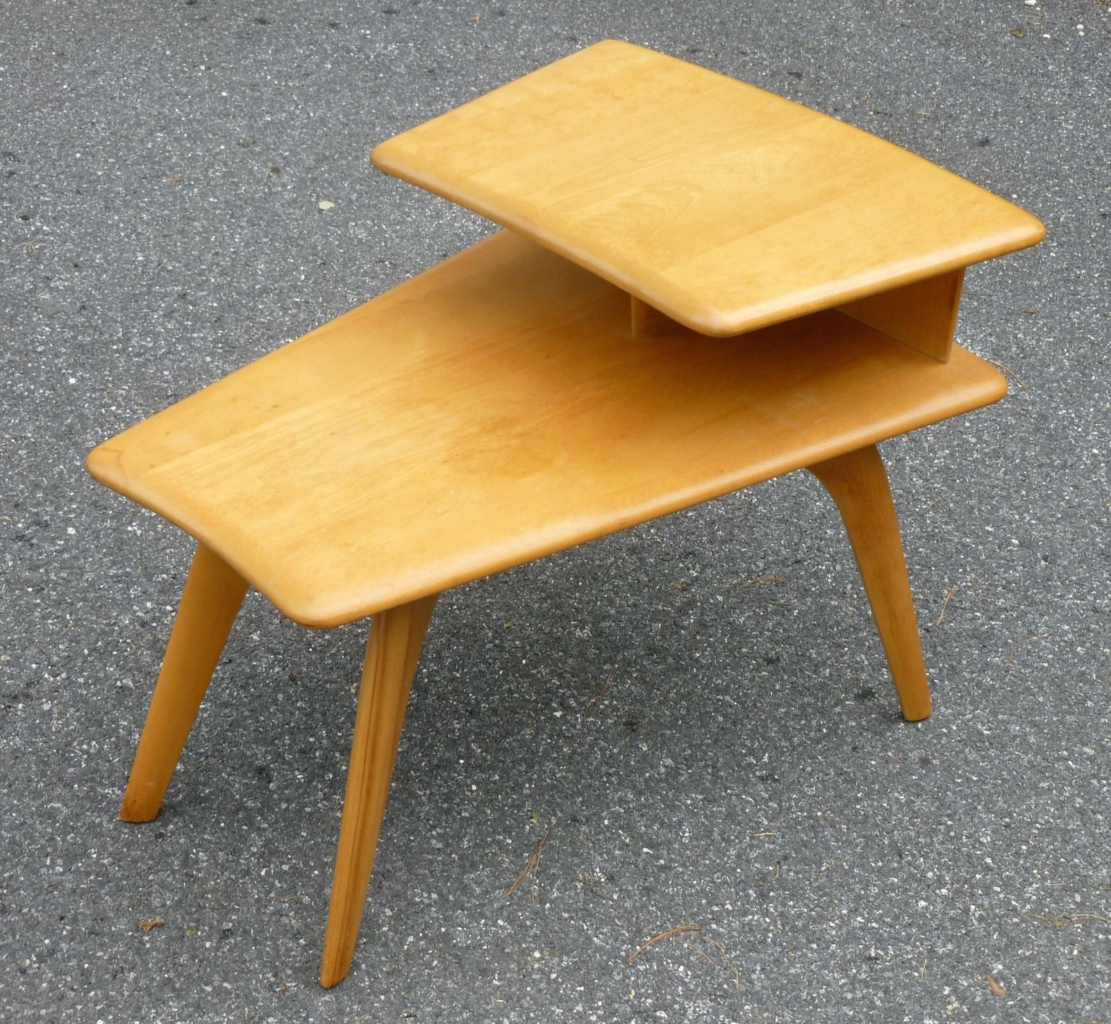 Sold for $275 in July 2015 RARE Heywood Wakefield WEDGE Shaped