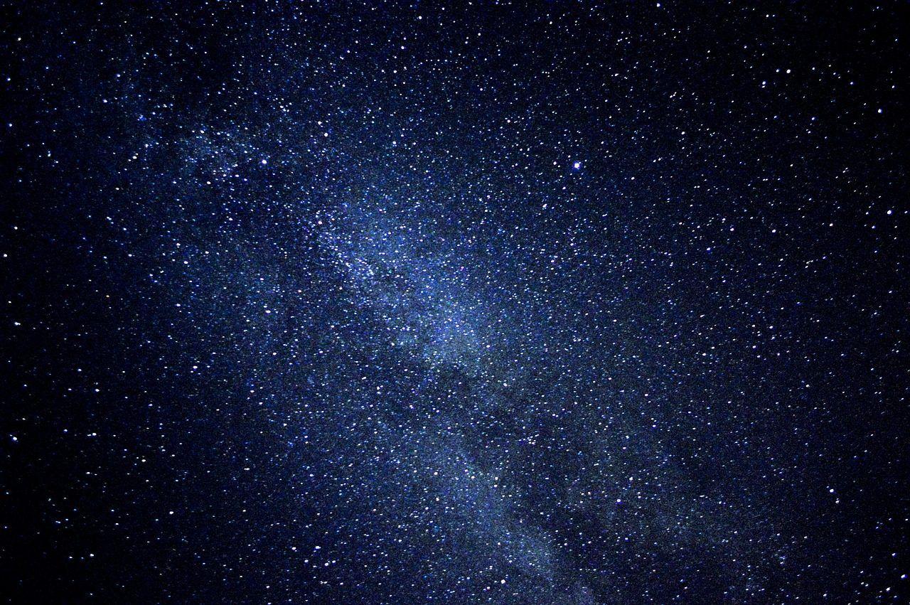 Noche, Estrellas, Espacio, Constelación, Galaxia