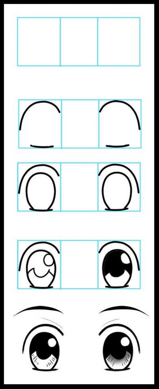 Mooi Stappenplan Voor Het Tekenen Van Ogen How To Draw Eyeshow