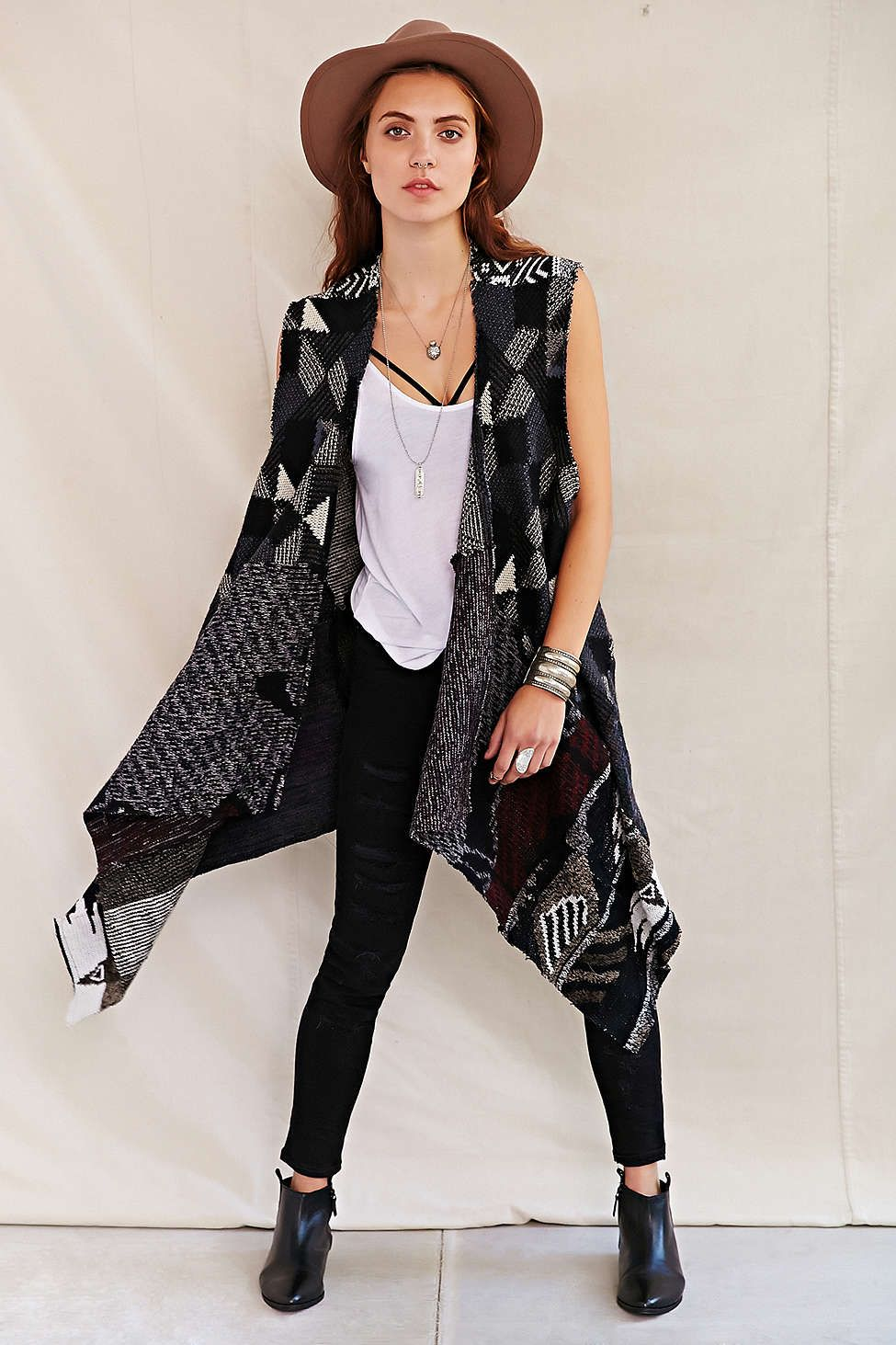Urban Renewal Recycled Cosby Sweater Vest - Urban Outfitters ...